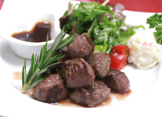ラビットキングのダイス肉