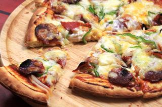 運命のルーレットピザ