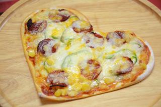 ハートフルピザ